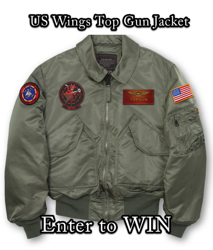 ENter to Win US Wings Jacket