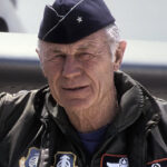 Celebrating Fighter Pilots Yeager and Anderson
